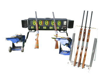 guns and laser sport equipment